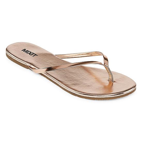 Mixit Womens Classic Thong Flip-Flops