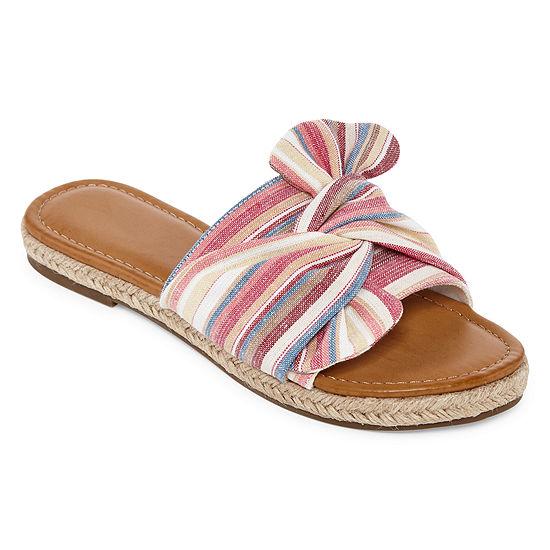 a.n.a Womens Geph Flat Sandals