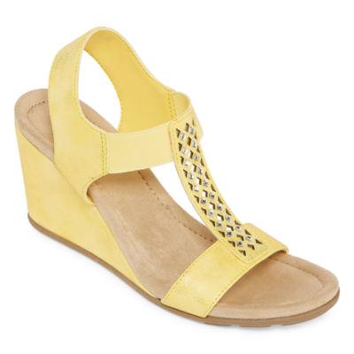 St. John's Bay Womens Luna Wedge Sandals