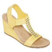 b31f5c9e3c07 St. John s Bay Womens Sjb Luna Wedge Sandals
