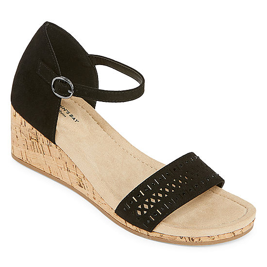 451e86a3a91f St. John s Bay Womens Mackey Wedge Sandals - JCPenney