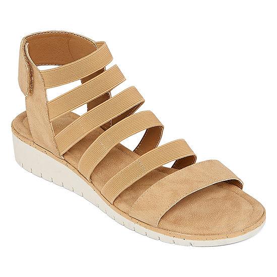 St. John's Bay Womens Fawzi Wedge Sandals