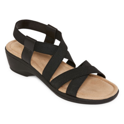 St. John's Bay Womens Imperial Wedge Sandals