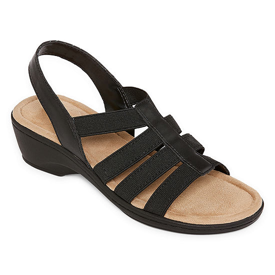 St. John's Bay Womens Innis Wedge Sandals