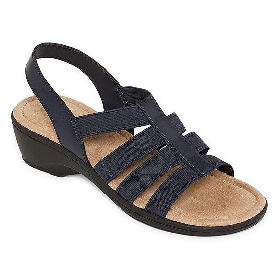 St. John's Bay Womens Innis Wedge Sandals