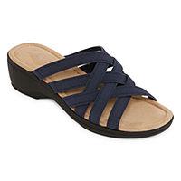 St. John's Bay Womens Irma Wedge Sandals
