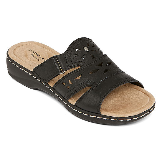 St. John's Bay Womens Kentucky Slide Sandals