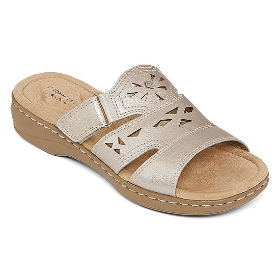 St. John's Bay Womens Kentucky Slide Sandals