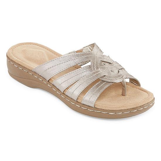 St. John's Bay Womens Kenton Slide Sandals