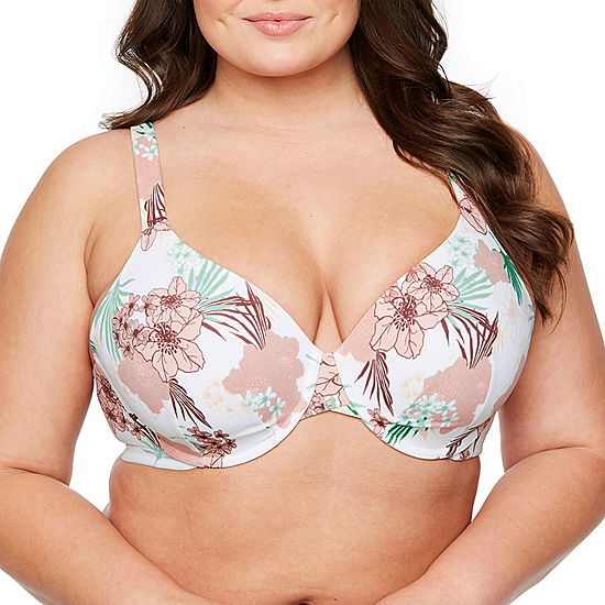 9aad142794a Ambrielle Everyday Full Figure Full Coverage Bra JCPenney