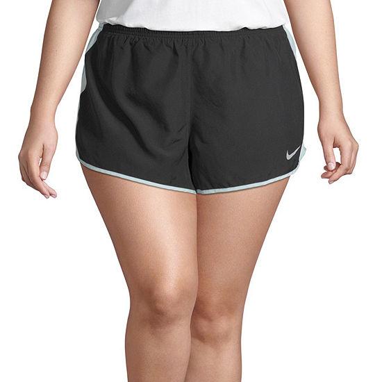 Nike Womens Moisture Wicking 10 Running Short Plus