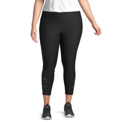 Xersion Lace Inset Workout Capri- Plus