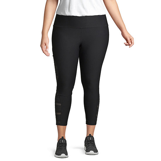 Xersion Lace Inset Workout Capri- Plus