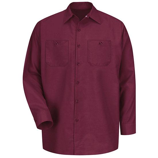 Red Kap® SP14 Industrial Solid Work Shirt–Big & Tall