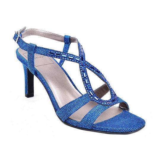 New York Transit Womens Damaris Heeled Sandals