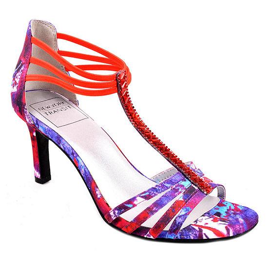 New York Transit Womens Destiny Heeled Sandals
