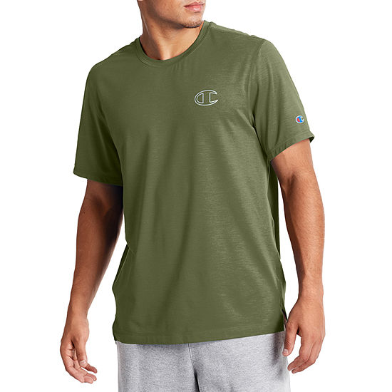 Champion Sport Mens Crew Neck Short Sleeve Moisture Wicking T-Shirt