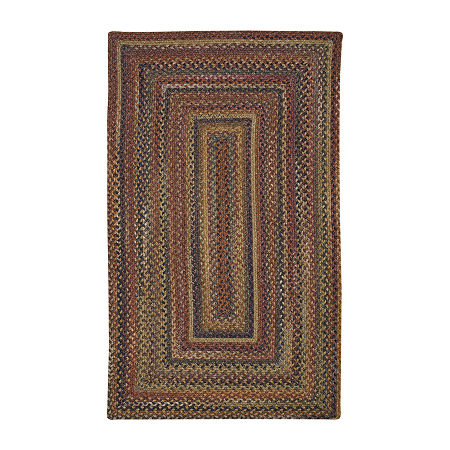 Capel Inc. American Tradition Braided Accent, Area and Ruuner Rectangular Rugs, One Size , Brown Product Image