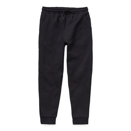 Msx By Michael Strahan Little & Big Boys Mid Rise Cuffed Jogger Pant, Large (14-16) , Black