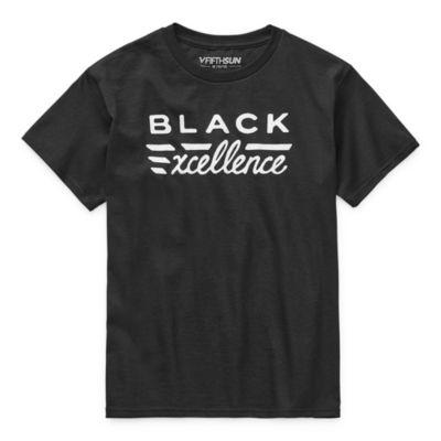 Black History Month Kids Unisex Crew Neck Short Sleeve Graphic T-Shirt
