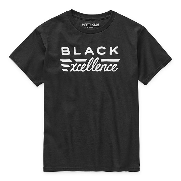 Black History Month Kids Unisex Crew Neck Short Sleeve Graphic T-Shirt