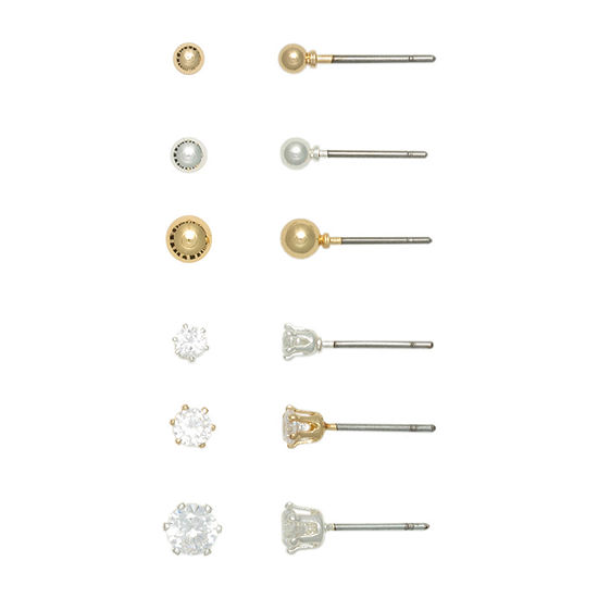 Mixit Hypoallergenic Earring Set