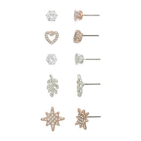 Mixit Hypoallergenic Earring Set