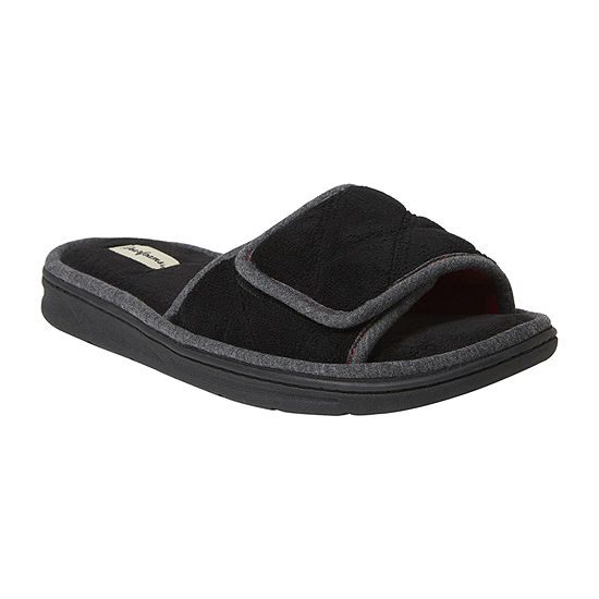Dearfoams® Cooper Quilted Terry Cloth Adjustable Slide