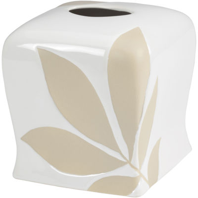 Creative Bath™ Shadow Leaves Tissue Holder