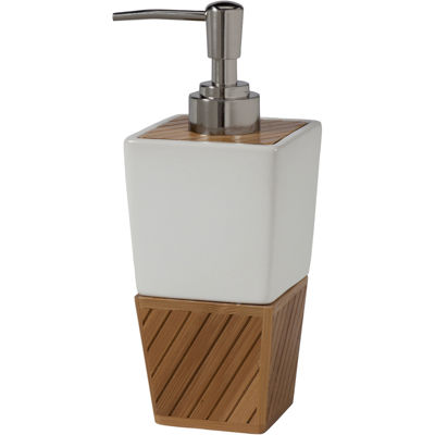 Creative Bath™ Spa Bamboo Soap/Lotion Dispenser
