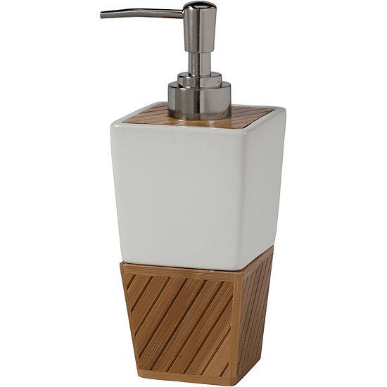 Creative Bath™ Spa Bamboo Soap/Lotion Dispenser