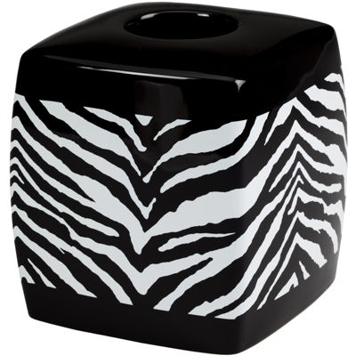 Creative Bath™ Zebra Tissue Holder