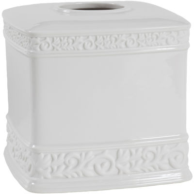 Creative Bath™ Cosmopolitan Ceramic Boutique Tissue Holder