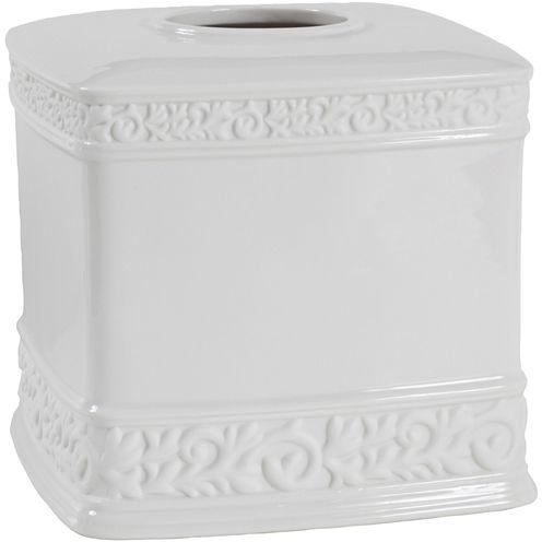 Creative Bath™ Cosmopolitan Ceramic Boutique Tissue Holder