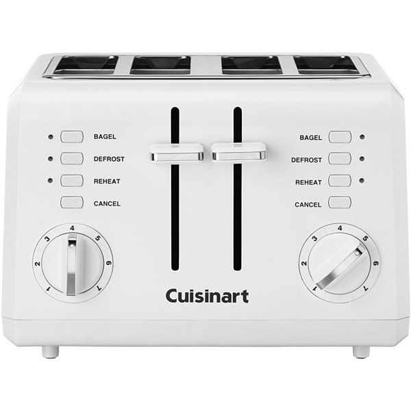 Cuisinart 4 Slice pact Toaster CPT 142