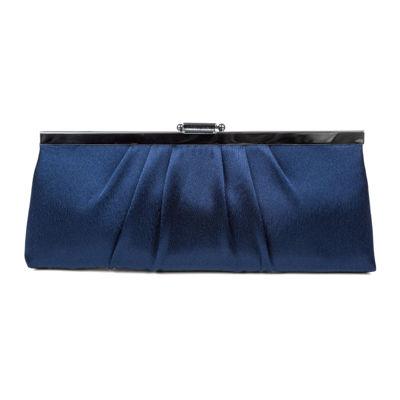 Gunne Sax by Jessica McClintock Blaire Pleats To Meet You Clutch Evening Bag