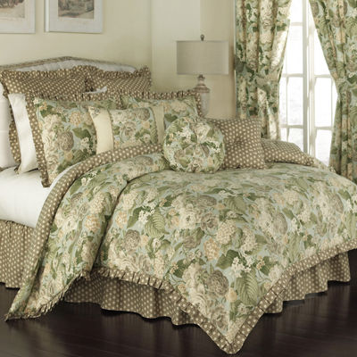Waverly® Garden Glory 4-pc. Reversible Comforter Set