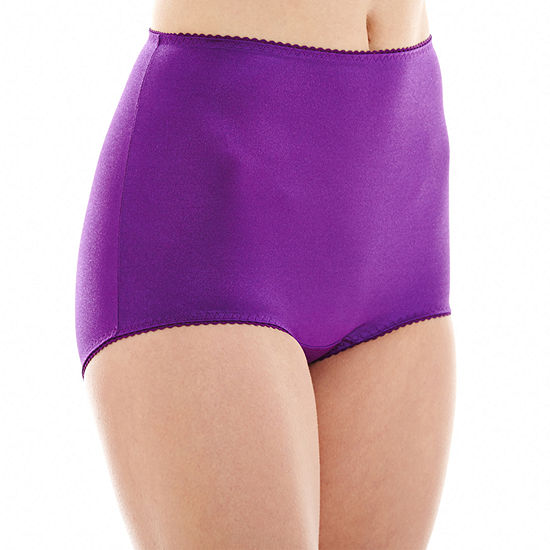 Underscore Rainbow Stretch Satin Control Briefs 123-3900