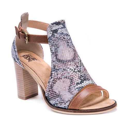 Muk Luks Darcey Womens Heeled Sandals