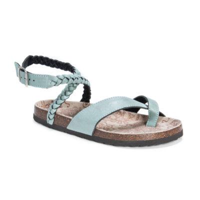 Muk Luks Estelle Womens Flat Sandals
