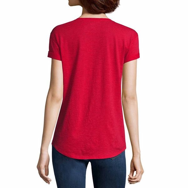 A.N.A Short Sleeve Scoop Neck T-Shirt - Tall