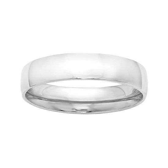 Personalized Womens 5MM 14K Gold Wedding Band