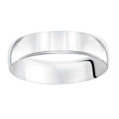 Unisex 5.5 Mm 14K Gold Wedding Band
