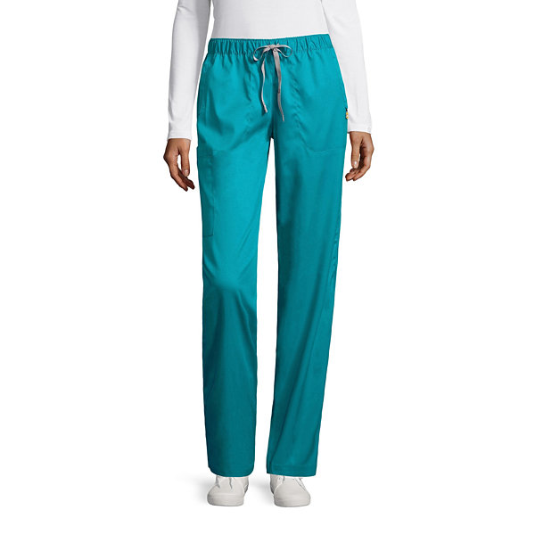 Wonder Wink Womens Scrub Pants-Petites