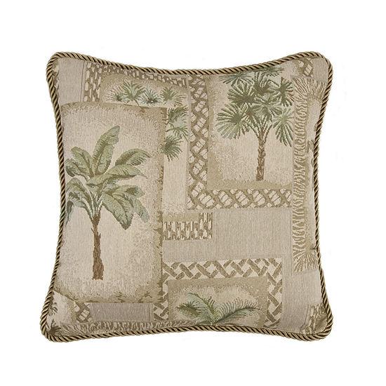 Karin Maki Palm Grove Square Pillow