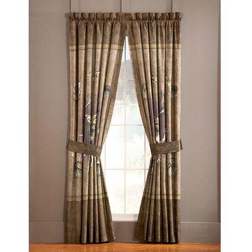 Blue Ridge Trading Whitetail Ridge 2-Pack Curtain Panels
