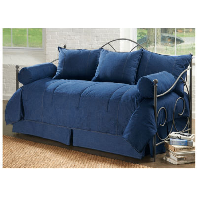Karin Maki American Denim 5-pc. Solid Daybed Cover Set