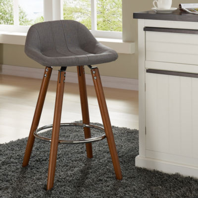 Upholstered 2-pc. Counter Height Bar Stool