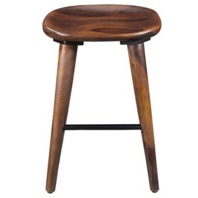 Wood Counter Height Bar Stool