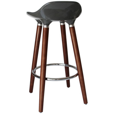 Abs Seat 2-pc. Counter Height Bar Stool